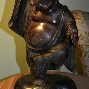 Buried Treasure! Large Dancing Bronze Buddha! - Asian