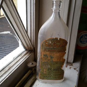 Old ammonia bottle
