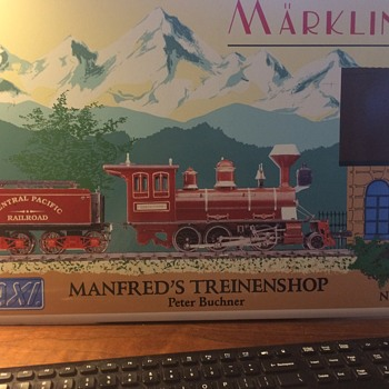 Maerklin Model Train Store Advertising Sign. German. - Model Trains