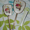 Vintage 1950s (?) Brush, Comb &amp; Mirror Set
