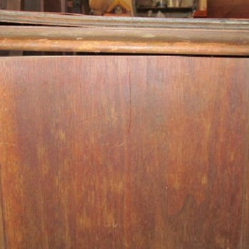 1920s RADIO CABINET - POST #5 OF 7 - Furniture