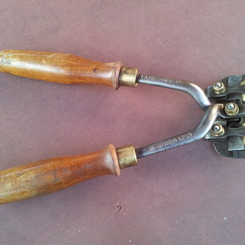 Vintage Multicut Shears - Tools and Hardware