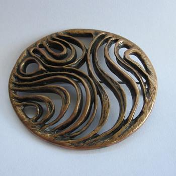 Bronze brooch by David Andersen????