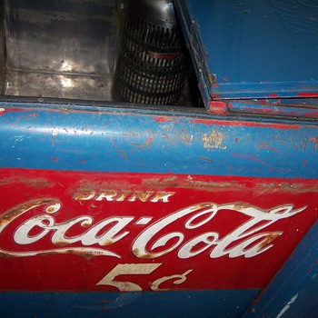 Drink Coca Cola 5 cent cooler - Coca-Cola