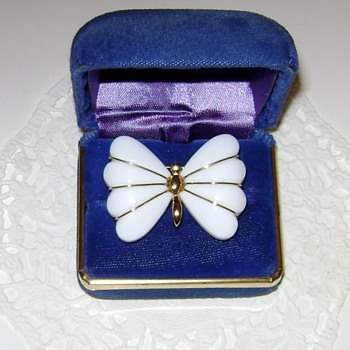 Trifari Butterfly Brooch