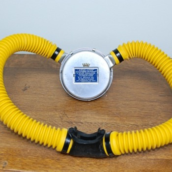 Vintage Double-hose SCUBA Regulator - Back to Sea Hunt Days