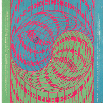 "Moscoso's ""Horns of Plenty"", Avalon Ballroom, Summer of 1967"