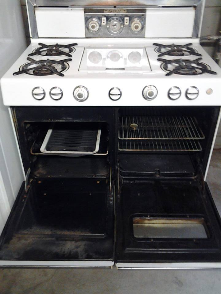 Stove With Griddle In The Middle ~ Estate vintage quot griddle in the middle range collectors