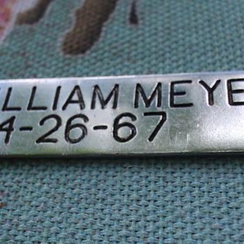 VIETNAM POW MIA MAJ. WILLIAM MEYER - Military and Wartime