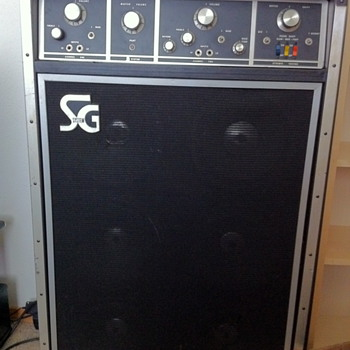 SG Systems 610 amp - Guitars