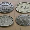 Railroad Locomotive Builder's Plates