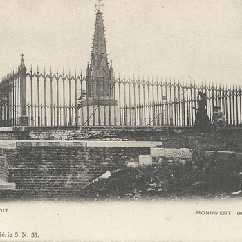 PLANCENOIT - LE MONUMENT DES PRUSSIENS