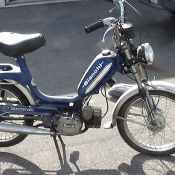 1977 BIANCHI BIANCHIMATIC MOPED