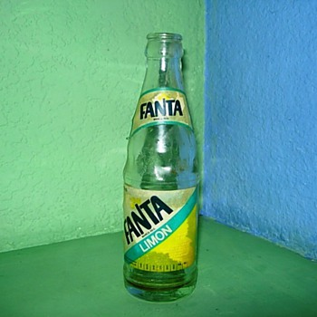 Lemon Fanta, Sprite and 7up Bottles - Bottles