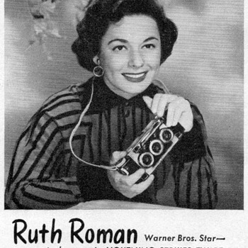 1951 - Ruth Roman for Realist Cameras - Advertisement