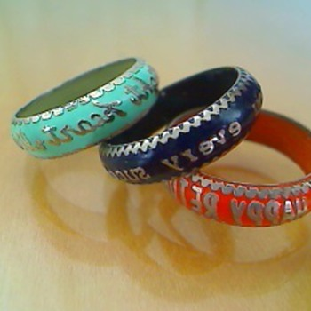 Sayings rings