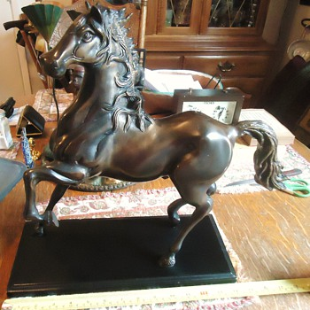 Item	Price	Qty	Total # 15430720 - Cast Bronze Horse Figurine	$61.00	1	$61.00
