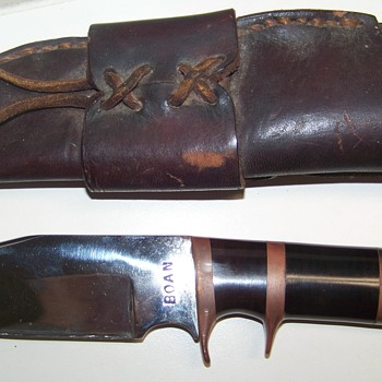 Boan Knife, can't find any info online
