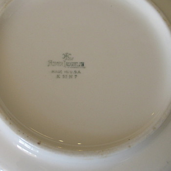 Homer Laughlin bowl  K 33 N 7