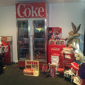 Some of my Coca Cola stuff - Coca-Cola