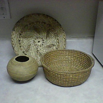 SMALL LOMBOK RATTAN BASKET - Asian