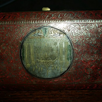 vintage cig case - Tobacciana