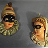 1930's ?  Masked  Madigras faces??? What do I call them??