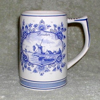 Heineken - Delft Ceramic Mug - Breweriana
