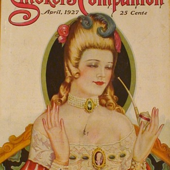 The Smokers Companion Magazine April 1927 - Tobacciana