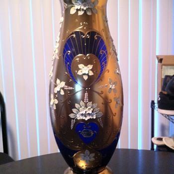 bohemia vase - Art Nouveau