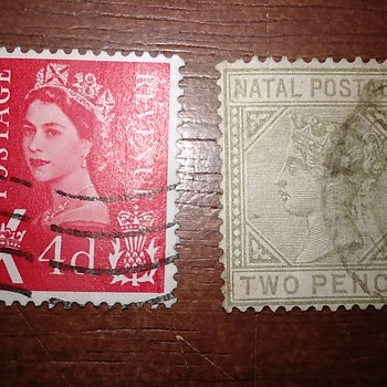 These Great Britian Stamps Mistify Me - Stamps