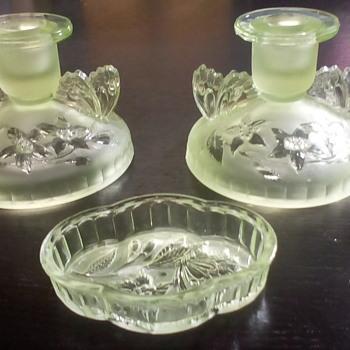 Sowerby Uranium Glass - Glassware