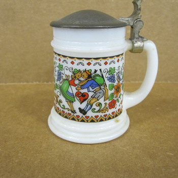 West German Shot Glass Tankard - Breweriana