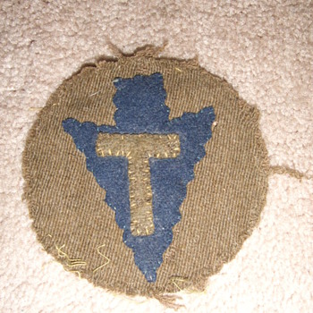 WW1 36th Infantry Division unit patch