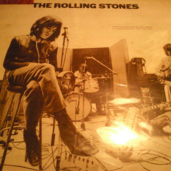 Limited Edition Rolling Stones Record 1969 - Records