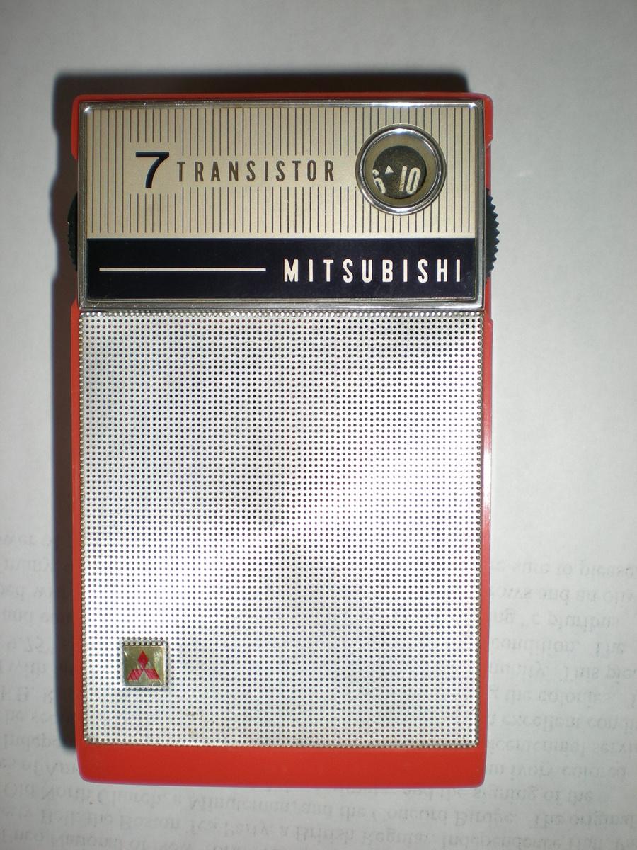 MITSUBISHI TRANSISTOR RADIO 1960S : Collectors Weekly