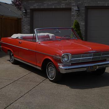 1962 Nova Convertible - Classic Cars