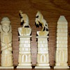 Egyptian Motif Chess Set
