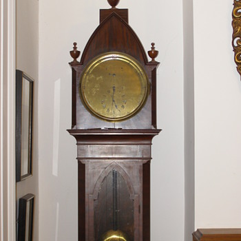 English Regulator clock