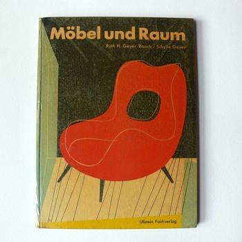 """""""Möbel und raum"""" book, 1958 - Books"""