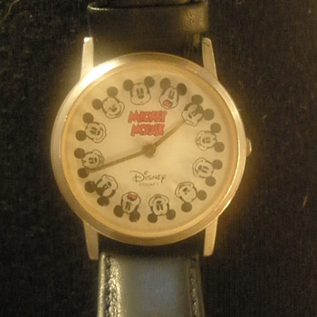 Fossil Mickey Watch (1990's)