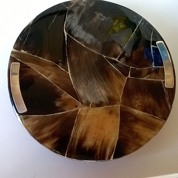 OK, Mystery Lovers...Here's My Sterling Silver Accent Lazy Susan
