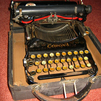 Nifty as Portable 'Corona' Type-Writer - Office