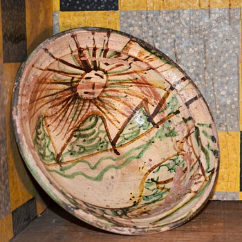 Bandera or Tzintzuntzan Pottery Bowl? - Art Pottery