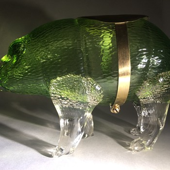 Loetz Martele Rhinoceros - Art Glass