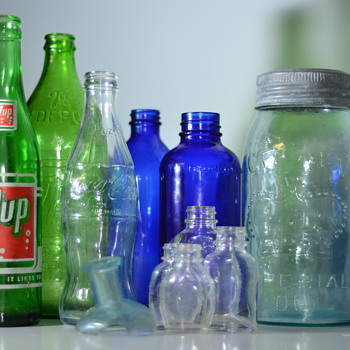 Various Dug Bottles