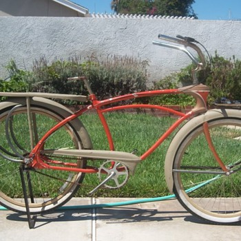 1939 to 41 Mercury Pacemaker Bicycle - Outdoor Sports