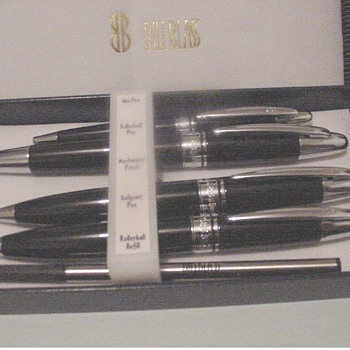 QUAD BILL BLASS PEN SET