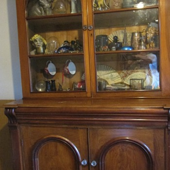 Antique dresser/glazed cupboard