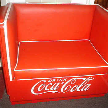 COCA COLA COUCH AND LOVESEAT